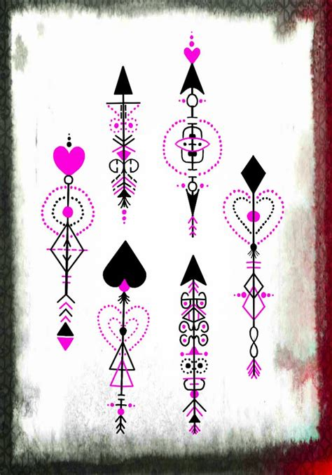 Images Henna Tattoos geometric arrow tattoo designs  time 672 x 960 · jpeg