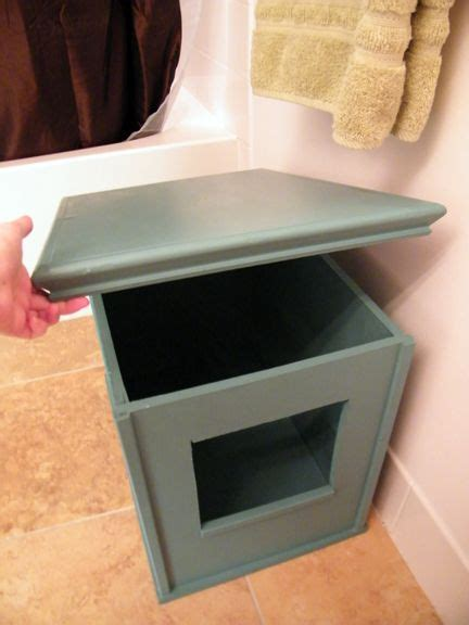 diy kitty litter box diy litter box hiding cat litter