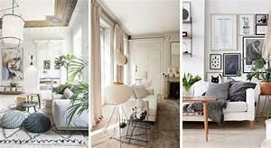 salon blanc 15 idees pour lui donner du charme With idee couleur pour salon 8 charme de la decoration de lit deco maison moderne
