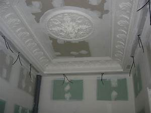 Dalle Plafond Polystyrene : peindre dalle plafond polystyrene 17 placo ba10 pour ~ Premium-room.com Idées de Décoration