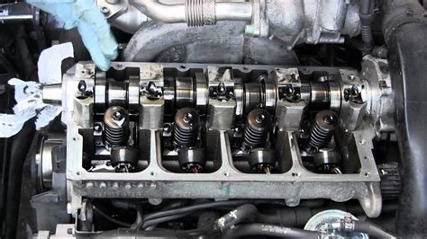 vw tdi  audi tdi bad camshaft removal  replacement
