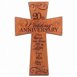 personalized 20th wedding anniversary 20th anniversary With 20th wedding anniversary gift for husband