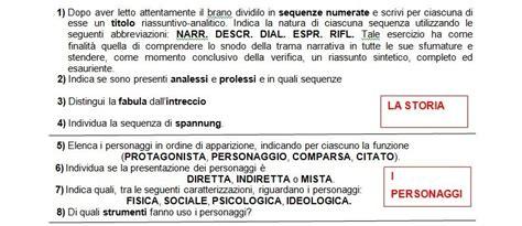 Analisi Testo Foscolo by Guida All Analisi Scritta Testo Narrativo Lavoriamo