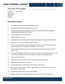 Sle Resume For Teller Position by Sle Resume For Waiter Position 28 Images Sle Resume Of
