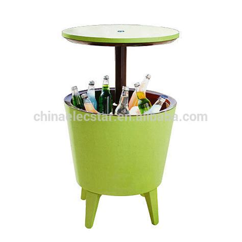 patio bar table cooler outdoor patio cool cooler bar table to keep your