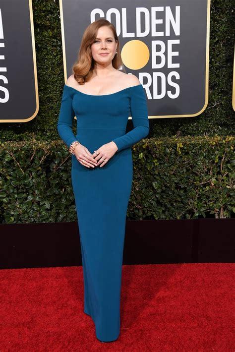 British stars enjoy golden globes glory. Amy Adams at the 2019 Golden Globes   Best Award Season ...