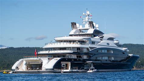 yacht island 134m luxury mega yacht serene photo by viktor davare vancouver island photography yacht
