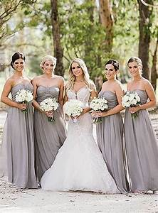gorgeous in gray bridesmaid dresses pinterest With wedding bridesmaid dresses