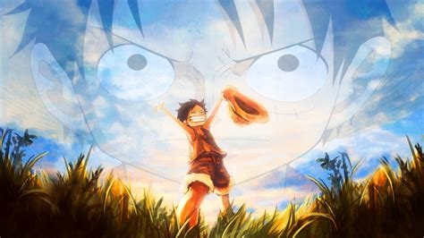 One Piece (young And Older Monkey D Luffy) Fond D'écran Hd