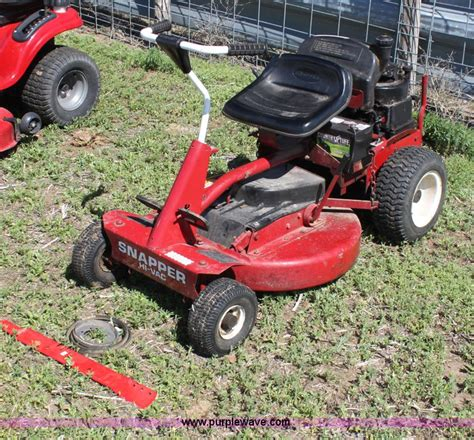 snapper hi vac lawn mower no reserve auction on wednesday june 12 2013