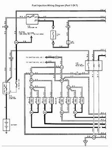 Fuel Injection Wiring Diagram  Part 1 Of 7