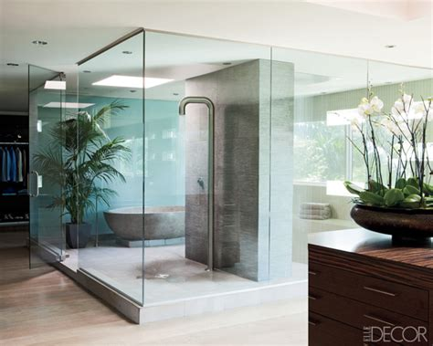 trendoffice celebrity bathrooms  elle decor