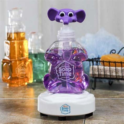 interactive kids soap dispenser set soap  lotion