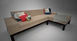 west elm lorimer sofa chaise 3d max With west elm lorimer sectional sofa