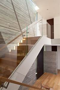 Staircase modern staircase modern with wood railing wood ...