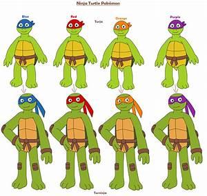 Ninja Turtle Pokemon By Mcsaurus On Deviantart
