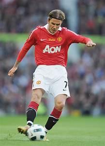 David Beckham Photos Photos - Manchester United v Juventus ...