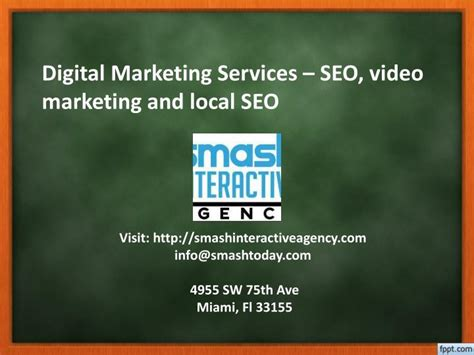 seo marketing services ppt digital marketing services seo marketing