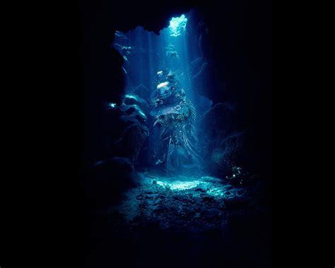 Underwater Cave Wallpaper | Wallpapers Gallery