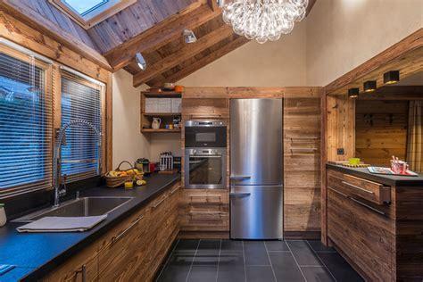 cuisine chalet moderne aménagement et décoration d 39 un chalet contemporain