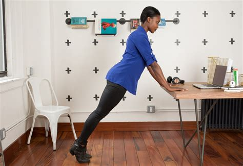 exercise while sitting at desk desk exercises the best you can legit do at work