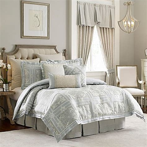 croscill couture 174 rowling reversible comforter set bed