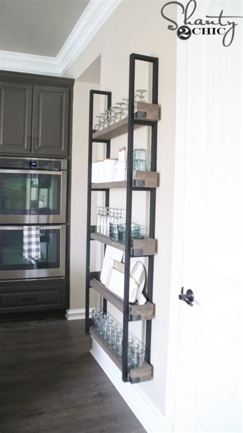 diy floating plate rack    video shanty  chic