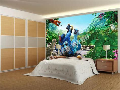 papier peint  poster geant dans la jungle