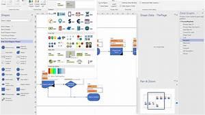 Process Flow Diagram Using Excel