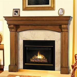 Pearl, Mantels, 195, Blue, Ridge, Wooden, Fireplace, Mantel