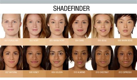 Right Shade Of For My Complexion by Temptu Shade Finder