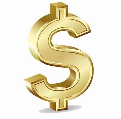 Dollar Sign Transparent Gold Symbol Currency Freepngimg
