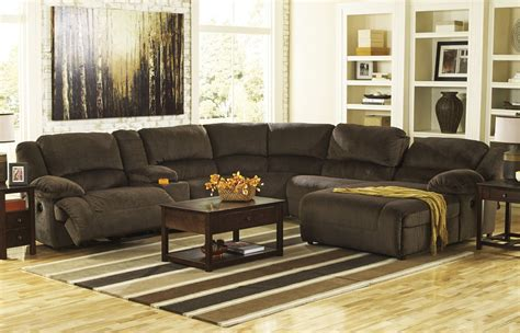 furniture reclining sectional toletta 6 pc power reclining sectional furniture