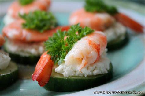 canapé bouche recette amuse bouche crevettes blogs de cuisine