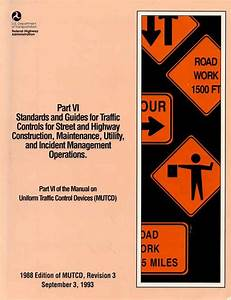 Cover Page From Part Vi Of The Manual On Uniform Traffic