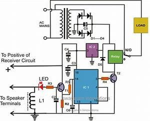 How To Make Wireless Remote Control Car Circuit Diagram