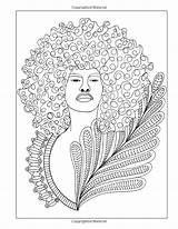 Coloring Adult Curls Unicia Buster Celebrating sketch template