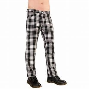pantalon punk ecossais w b apside clothes With pantalon homme a carreaux ecossais