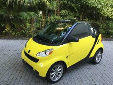 smart fortwo passion yellow  sale  craigslist