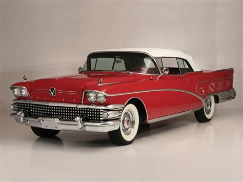 1958 Buick Limited Convertible (756-4867x) Luxury Retro D