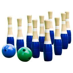 outdoor bowling alley diy tutorial