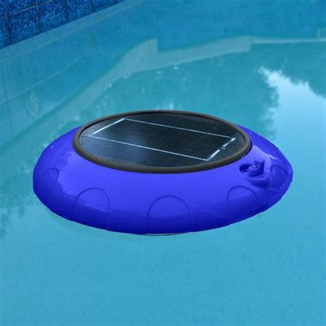 blue wave evolution floating led solar pool light walmart ca