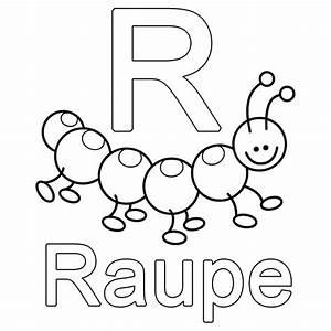 Kleine Rechnung Mit 4 Buchstaben : ausmalbild buchstaben lernen kostenlose malvorlage r wie raupe kostenlos ausdrucken sprachen ~ Themetempest.com Abrechnung