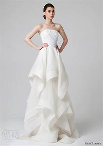 rani zakhem spring 2014 wedding dresses wedding inspirasi With layered skirt wedding dress