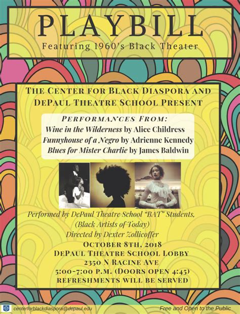 black theater performative readings depaul theater