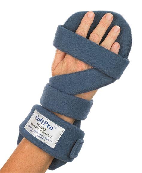 amazoncom softpro palmar resting hand splint left large health personal care
