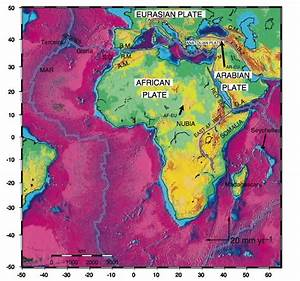 African  Arabian Tectonic Plates