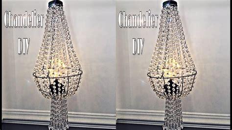 diy wire chandelier chandelier diy dupe using dollar tree wire basket