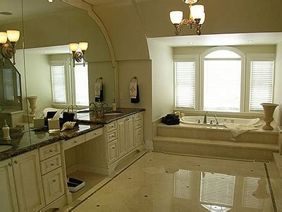 bathroom with vanity makeup area for the home pinterest