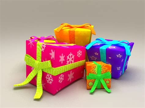 decorative gift boxes  model ds max files